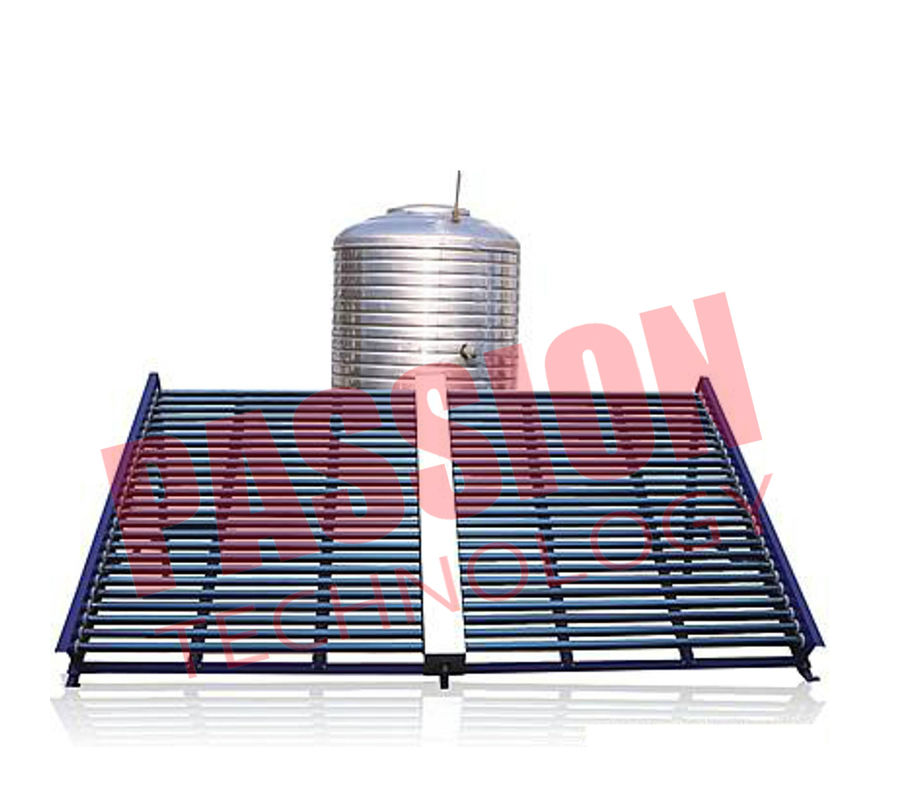 Horizontal Type Solar Vacuum Tube Collector , Solar Hot Water Collector 500L